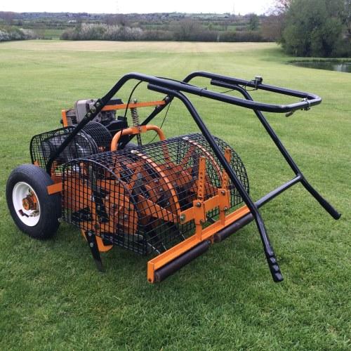 Sisis Autoslit Lawn Aerator Bertie Green