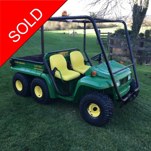 John Deere Th 6x4 Gator Bertie Green