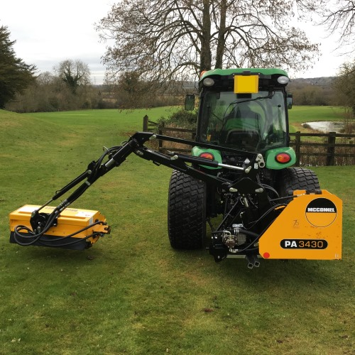 Mcconnel 3430 Side Arm Flail Mower Bertie Green