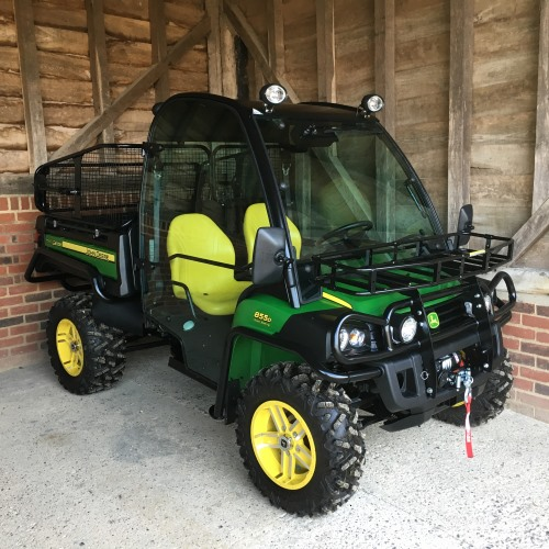john deere 855d xuv gator 2016 bertie green. Black Bedroom Furniture Sets. Home Design Ideas