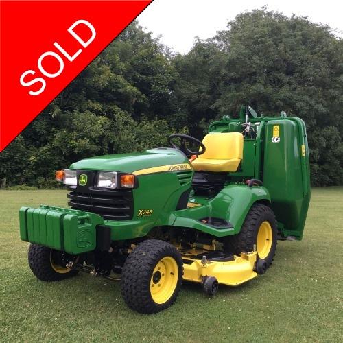 diesel garden tractor. John Deere X748 Diesel Garden Tractor