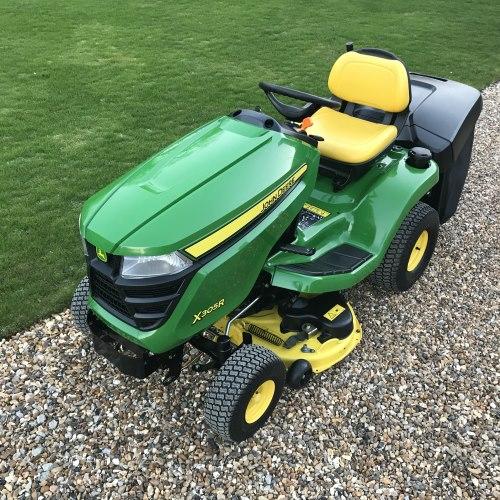 john deere x305r garden tractor bertie green. Black Bedroom Furniture Sets. Home Design Ideas