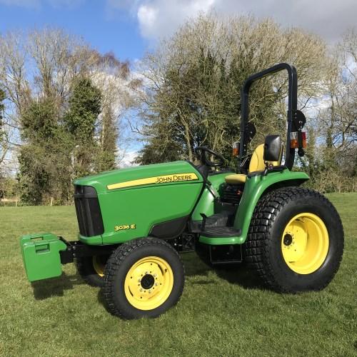 John Deere E Compact Tractor A